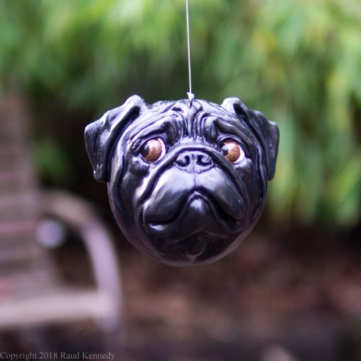 fawn and black pug ornament (1 of 16)