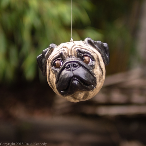 fawn and black pug ornament (15 of 16)