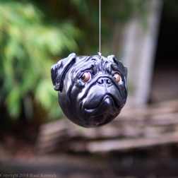 fawn and black pug ornament (2 of 16)
