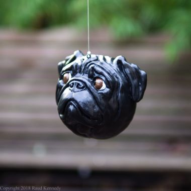 fawn and black pug ornament (3 of 16)