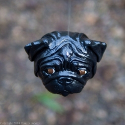 fawn and black pug ornament (7 of 16)